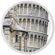 Pisa Round Beach Towel