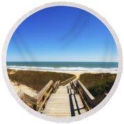 Ponte Vedra Beach Round Beach Towel