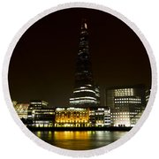 South Bank London Round Beach Towel
