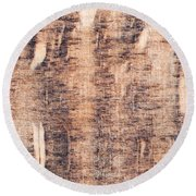 Wood Background Round Beach Towel