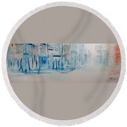 95 In The Shade Round Beach Towel