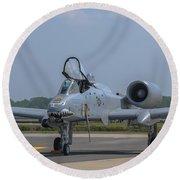 A-10 Thunderbolt Warthog Round Beach Towel