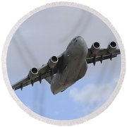 A Boeing C-17 Globemaster IIi Taking Round Beach Towel