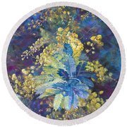 A Burst Of Spring Round Beach Towel