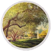 A Day For Dreaming Round Beach Towel