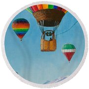 A Dream Come True Round Beach Towel