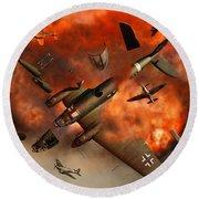 A German Heinkel Bomber Plane Blowing Round Beach Towel