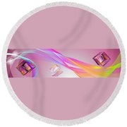 A Higher Place 2 Round Beach Towel