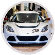 A Lotus Exige S Round Beach Towel