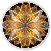 A New Year's Star 2014 Round Beach Towel