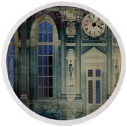 A Night At The Palace Round Beach Towel