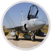 A Pakistan Air Force Jf-17 Thunder Round Beach Towel