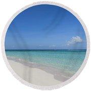 A Perfect Beach Round Beach Towel
