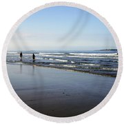 A Place Of Our Own Round Beach Towel