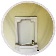 A Porcelain Wall Mounted Drinking Round Beach Towel
