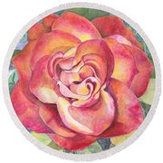 A Rose For Mom Round Beach Towel