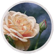 A Rose Is A Rose... Round Beach Towel