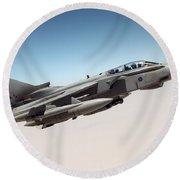 A Royal Air Force Tornado Gr4  Round Beach Towel