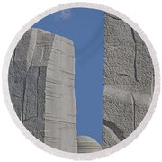 A Stone Of Hope Round Beach Towel by Susan Candelario