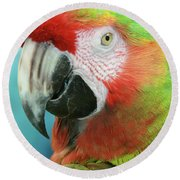 A Thing Of Beauty Is A Joy Forever Round Beach Towel