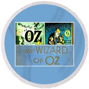 A Tribut To The Oz Round Beach Towel