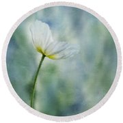 A Vision Of Delight Round Beach Towel