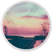 A Way Of Life  Round Beach Towel