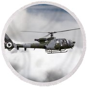 Aac Gazelle Xx453  Round Beach Towel