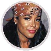 Aaliyah Round Beach Towel