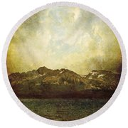 Ab Antiquo I Round Beach Towel by Brett Pfister