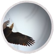 Above All Else 2 Round Beach Towel