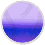 Above The Fray Round Beach Towel