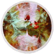 Abstract Series 07 Round Beach Towel
