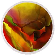 Abstract 070213 Round Beach Towel