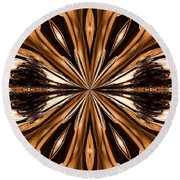 Abstract 141 Round Beach Towel