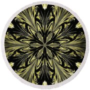 Abstract 146 Round Beach Towel