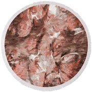 Abstract Series16 Round Beach Towel