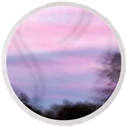 Abstract-2 Round Beach Towel