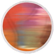 Abstract 261 Round Beach Towel