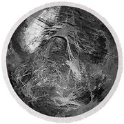 Abstract 409 - Marucii Round Beach Towel