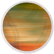 Abstract 424 Round Beach Towel by Patrick J Murphy