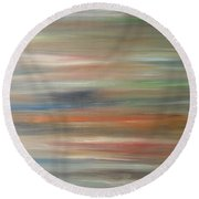 Abstract 426 Round Beach Towel by Patrick J Murphy