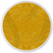 Abstract 494 Round Beach Towel