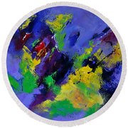 Abstract 5531102 Round Beach Towel