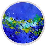 Abstract 5531103 Round Beach Towel