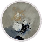 Abstract 6631101 Round Beach Towel
