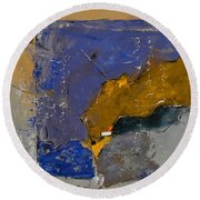 Abstract 88113003 Round Beach Towel