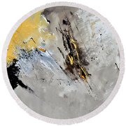 Abstract 8831801 Round Beach Towel