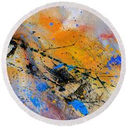 Abstract 965943 Round Beach Towel