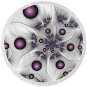 Abstract Beauty Round Beach Towel